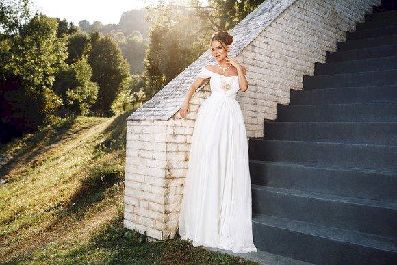 Andreea Antonescu, pentru prima oară în rochie de mireasă