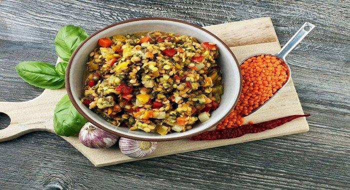 Curry cu linte şi legume